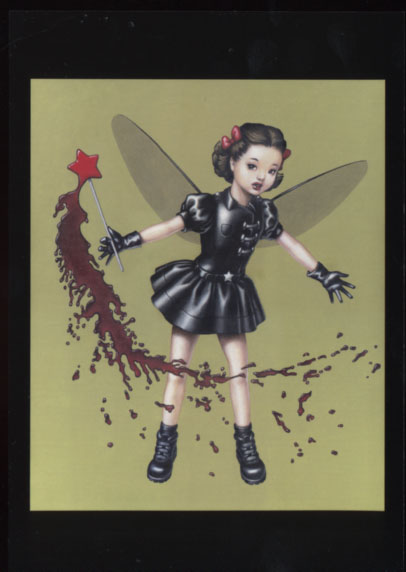 RUBBER DOLL POSTCARD SET - Trevor Brown